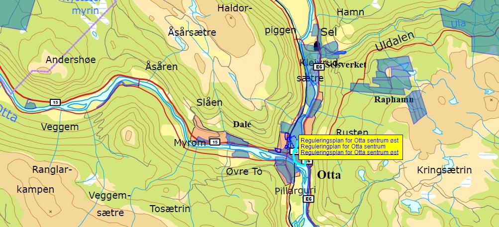 sel i gudbrandsdalen kart Kommunale kart og kartløsninger   Sel kommune sel i gudbrandsdalen kart
